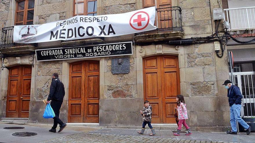 Vilaxoán retoma las movilizaciones para lograr la reapertura de su centro de salud