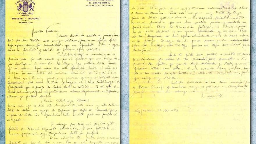 "Blanco Amor a Lorca: ""Te mando mis brazos a pesar de tu 'yo' aparencial"""