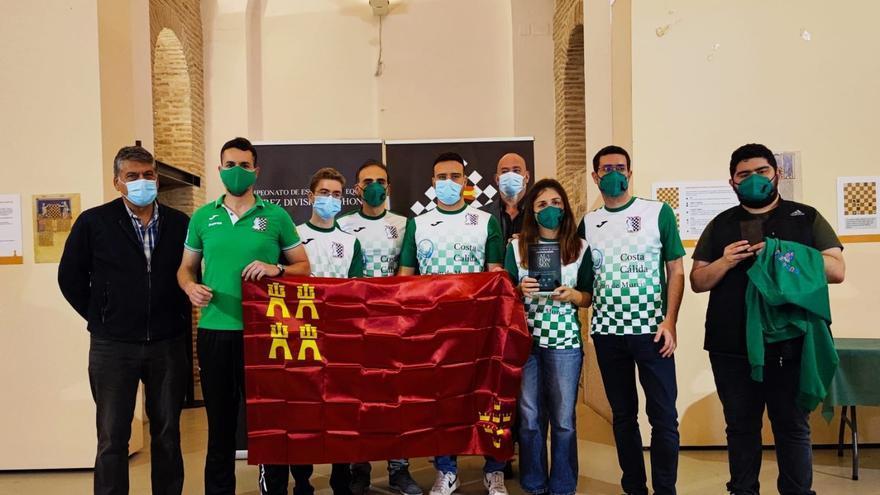 DuoBeniaján-Costa Cálida, campeón de España de ajedrez por clubes