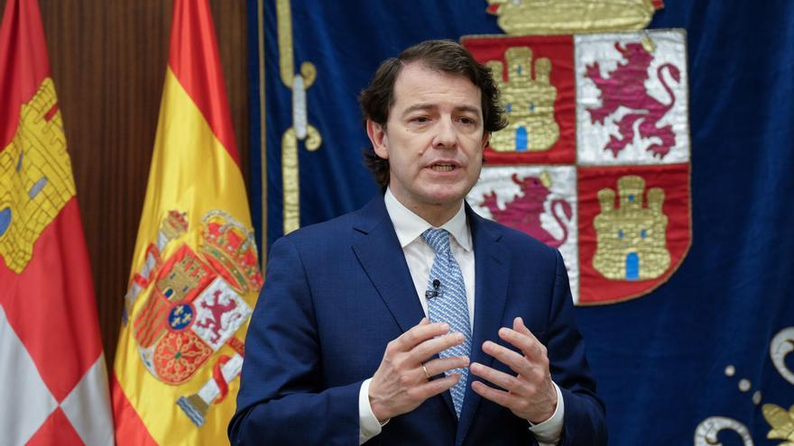 Mensaje del presidente de la Junta de Castilla y León, Alfonso Fernández Mañueco, con motivo de la Fiesta Nacional