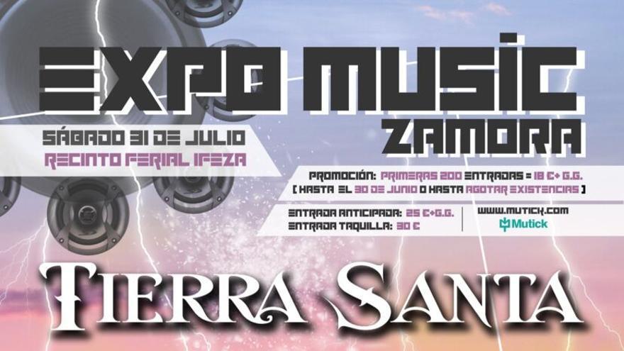 Sorteo: Consigue entradas para Expo Music Zamora