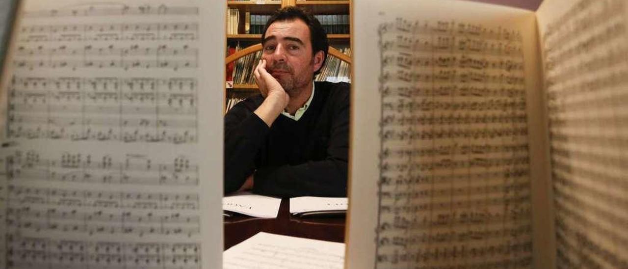 Iván Cuervo, ayer, en el Conservatorio Julián Orbón.