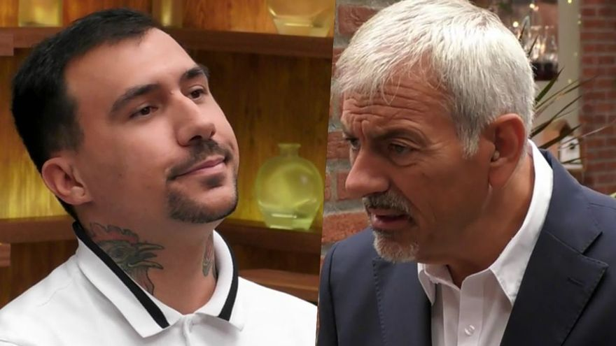 """Carlos Sobera se queda de piedra en 'First Dates' con la habilidad de Nacho: """"O da asco o da morbo"""""""