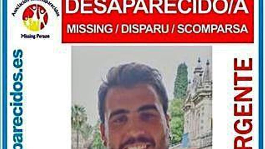Continúan las pesquisas por la desaparición de Yago de la Puente