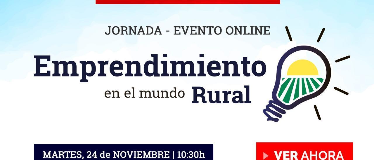 """En directo """"Emprendimiento en el Mundo Rural"""""""