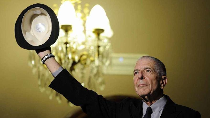 Un año sin Leonard Cohen