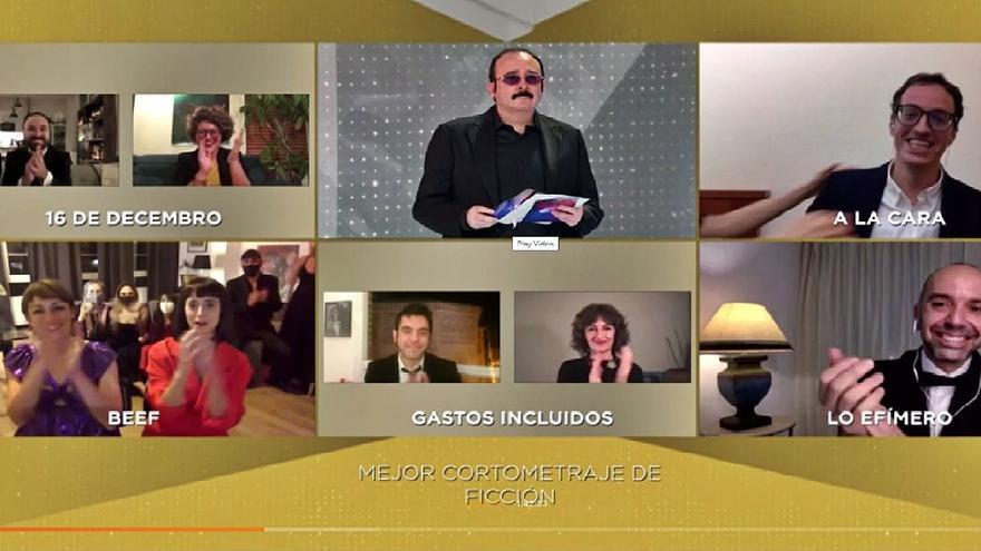 Javier Marco: «Hemos apuntado al cielo y hemos conseguido el Goya a mejor corto de ficción»