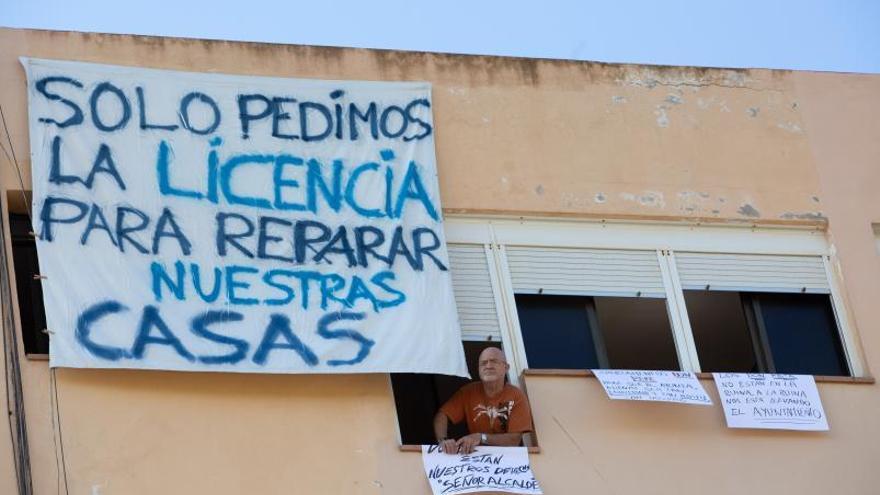 Sant Josep notifica de nuevo a los vecinos de los Don Pepe que deben desalojar sus domicilios