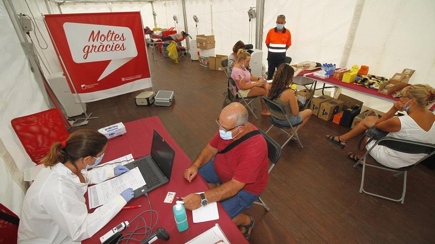 Blanes inicia avui una nova Campanya de Donació de Sang Extraordinària que s'allargarà tres dies