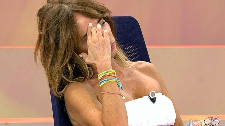 María Patiño amenaza con abandonar la televisión tras protagonizar este duro momento