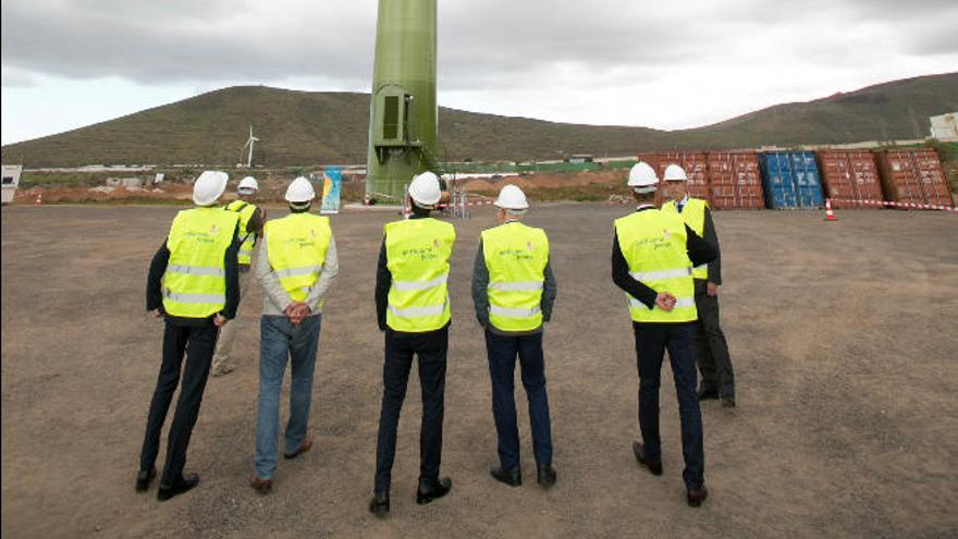 Gas Natural Fenosa pone en marcha su primer parque eólico en Canarias