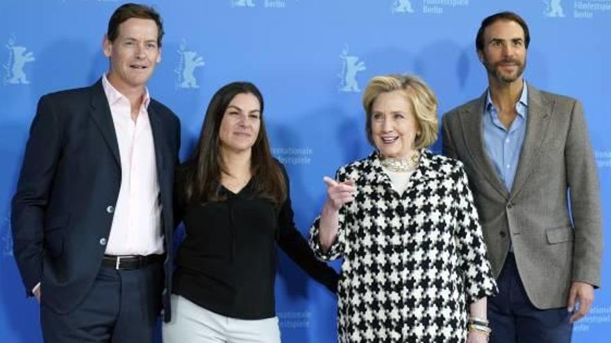 Hillary Clinton presenta en  Berlín su serie documental