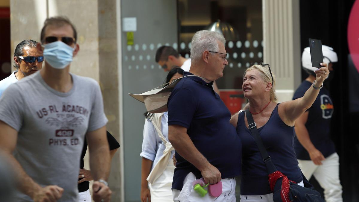 La incidencia desciende en Málaga capital