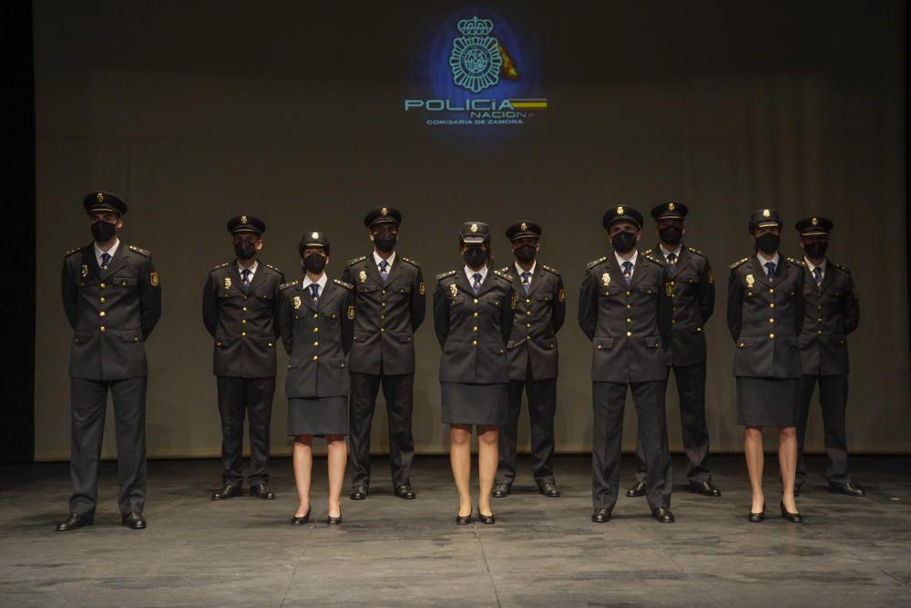 Jura del cargo de la Policía Nacional en Zamora.