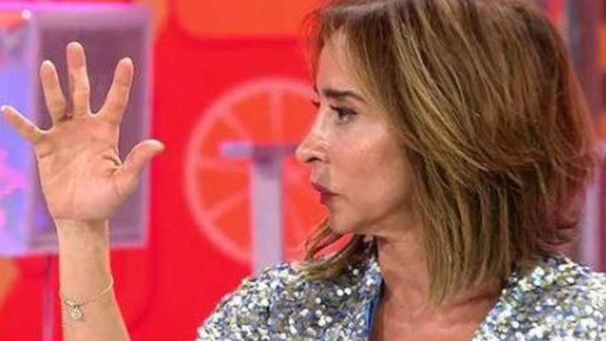 """María Patiño, rota de dolor: """"Te debo la vida, no hay un día que no lo recuerde"""""""