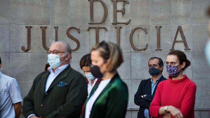 La pandemia agrava el colapso judicial con 153.000 casos en la lista de espera