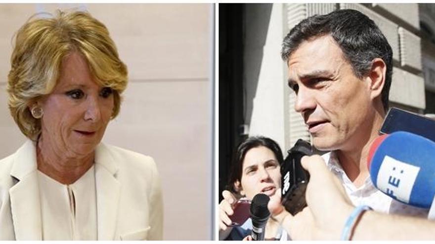 Sánchez no vulneró el honor de Aguirre al llamarla corrupta