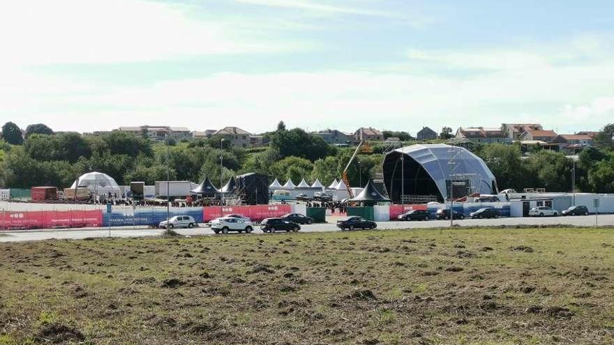 El Maestral Music Festival cancela los seis conciertos y desmonta la instalación