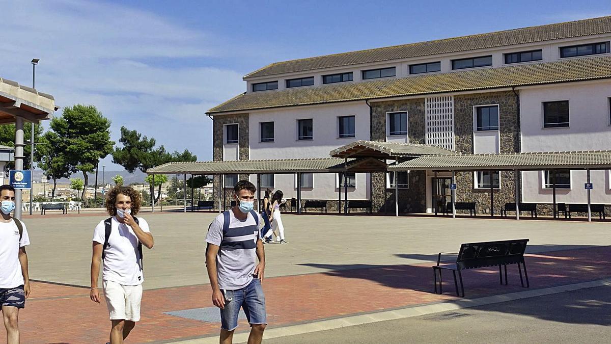 Instalaciones en el campusde Los Dolores que acogerá elgrado de Medicina.