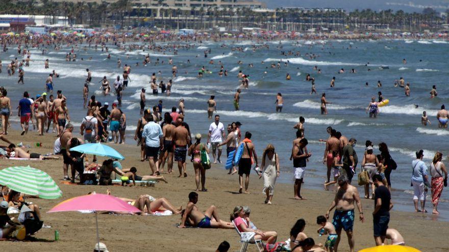 La covid deixa sis morts i 1.593 contagis nous a la Comunitat Valenciana