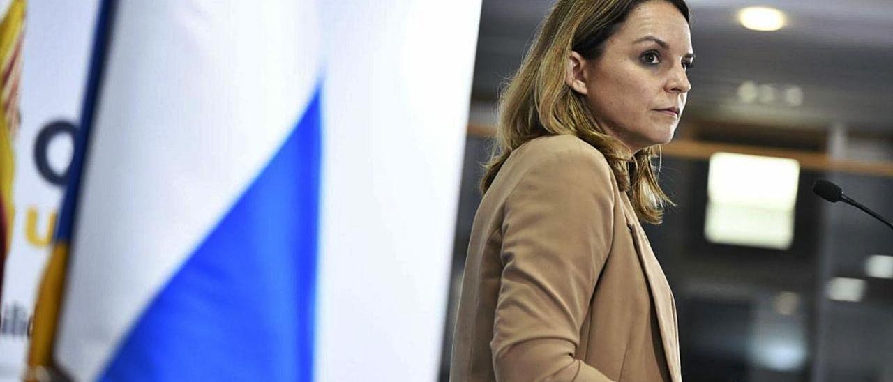 Noemí Santana, consejera de Derechos Sociales del Gobierno de Canarias.