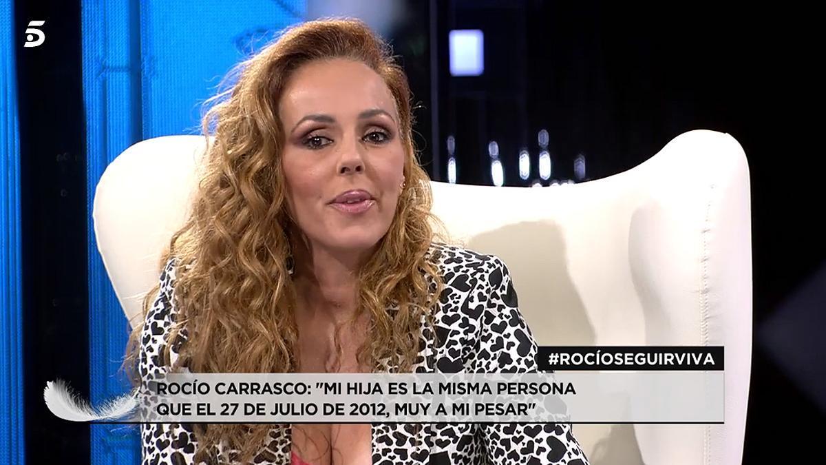 Rocío Carrasco, en Telecinco.