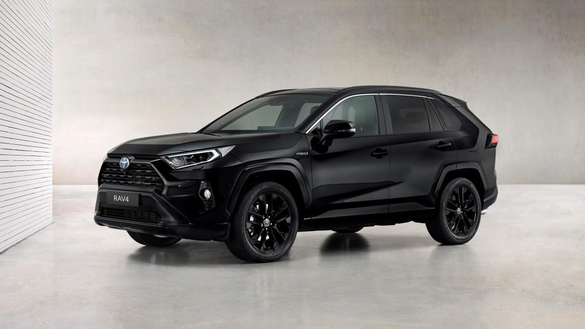 Así es el nuevo y atractivo Toyota RAV4 Electric Hybrid Black Edition