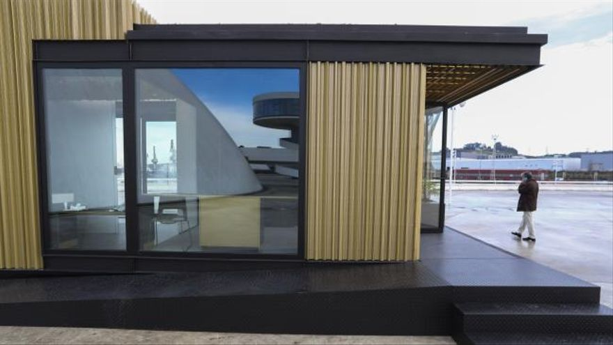 La habitación del futuro se podrá visitar en el Niemeyer en semanas