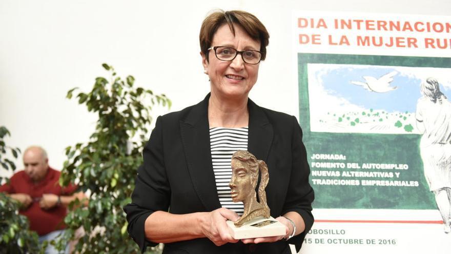 Premio a una emprendedora yeclana, Rafaela Ortega