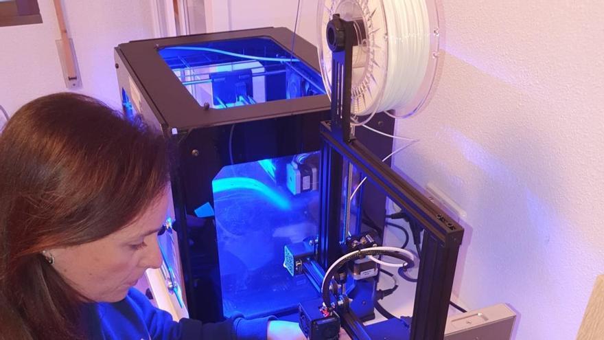 La Universidad Católica colabora con la impresión 3D de material sanitario