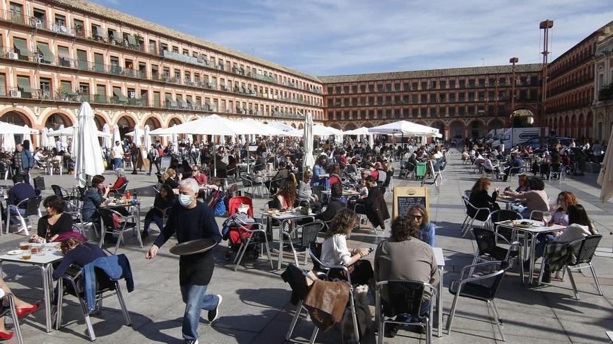 Hay luz en las terrazas de Córdoba