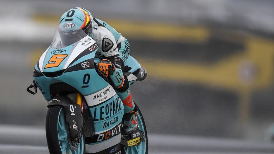 Masiá firma su primera 'pole' de la temporada en Moto3