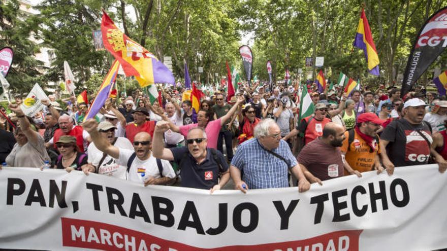 Las Marchas de la Dignidad mueven a miles de personas