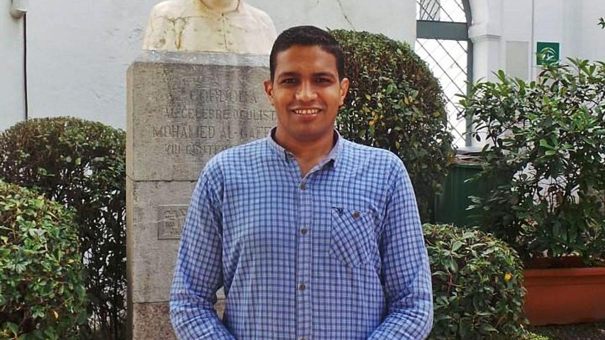 Abdallah Hegazy espera poder volver a la Universidad de Córdoba algún día.