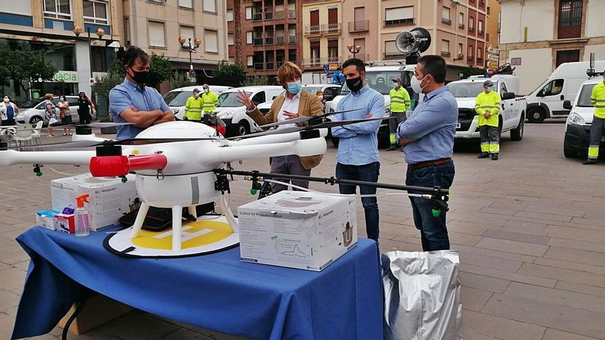 Tecnología puntera en Sagunt para luchar contra las plagas