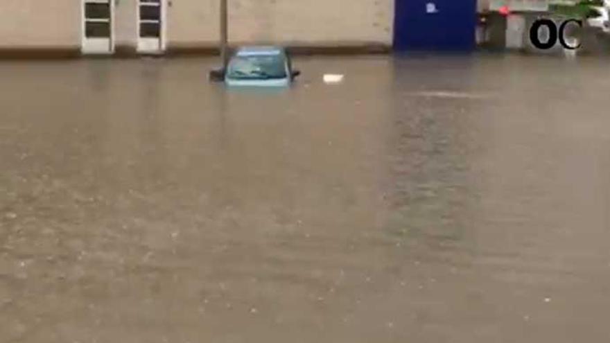 Riadas e inundaciones en Sada, Bergondo y Oleiros