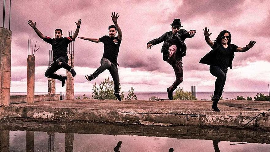 La banda ibicenca Tales of Gloom celebra sus 13 años con un disco en vivo