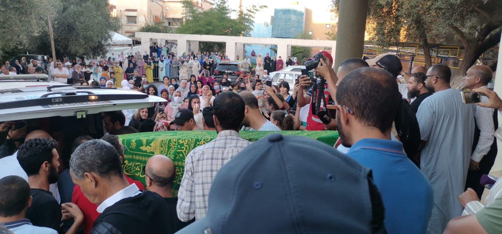 Funeral de Younes en Marruecos