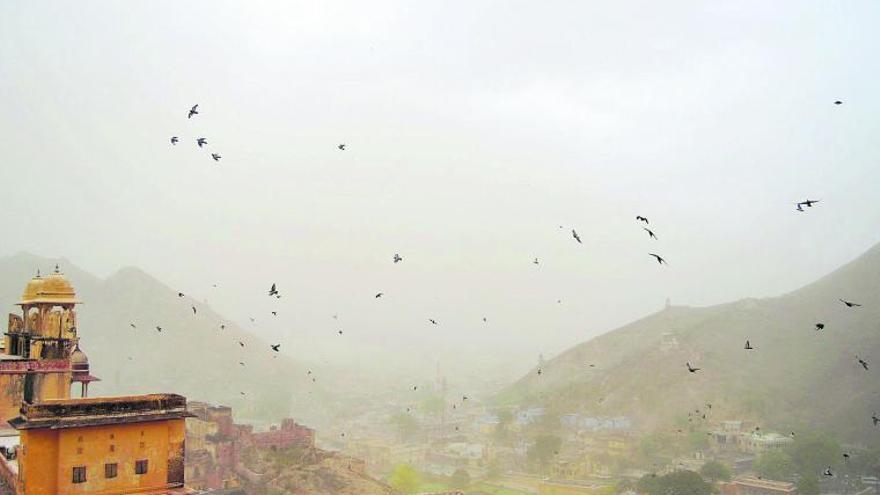 Jaipur, la tormenta de arena