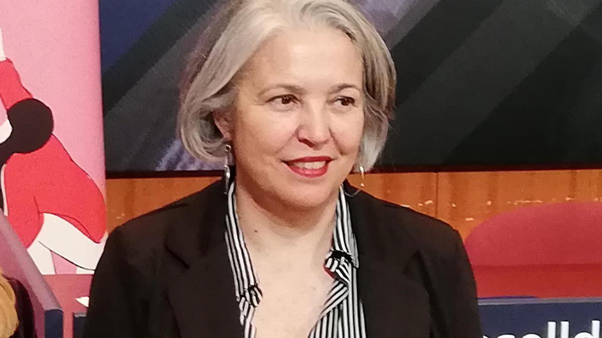 Teresa Suárez, en una foto de archivo