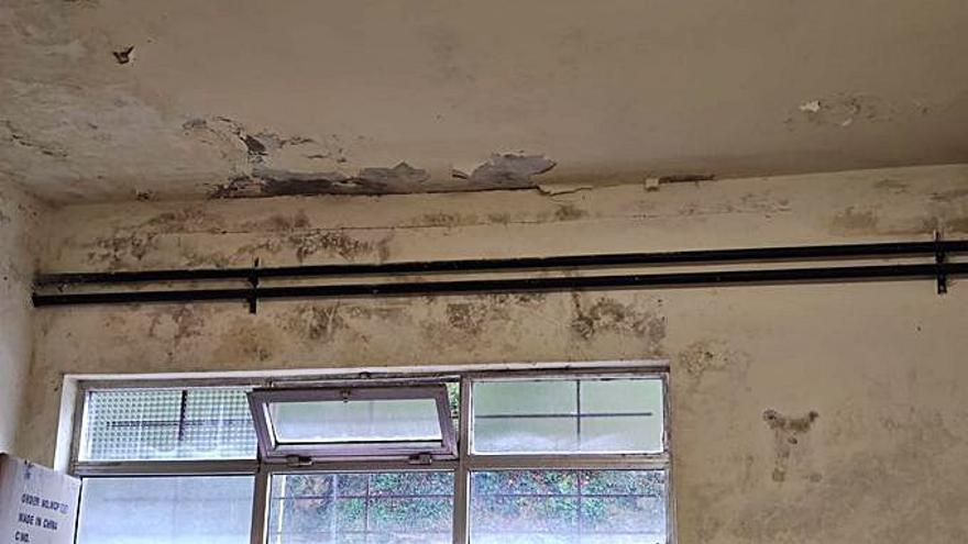 Mejoras para la cubierta, la fachada y la caldera del colegio Jovellanos de Vegadeo