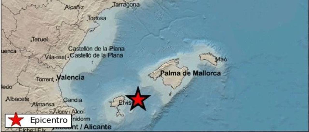 Terremoto en Ibiza