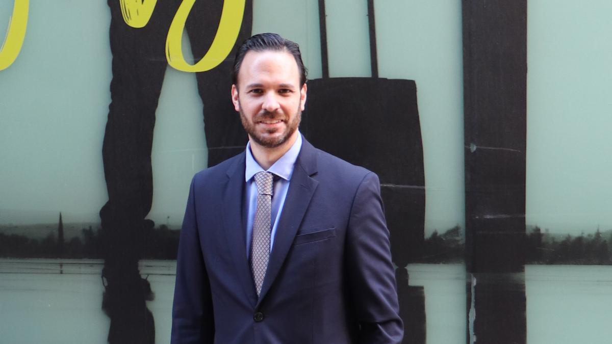 Francisco Javier Ortega, antes del taller especializado en el CEU.