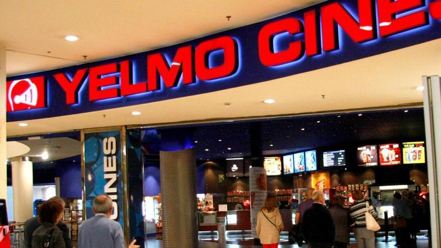 Sala de cines Yelmo.