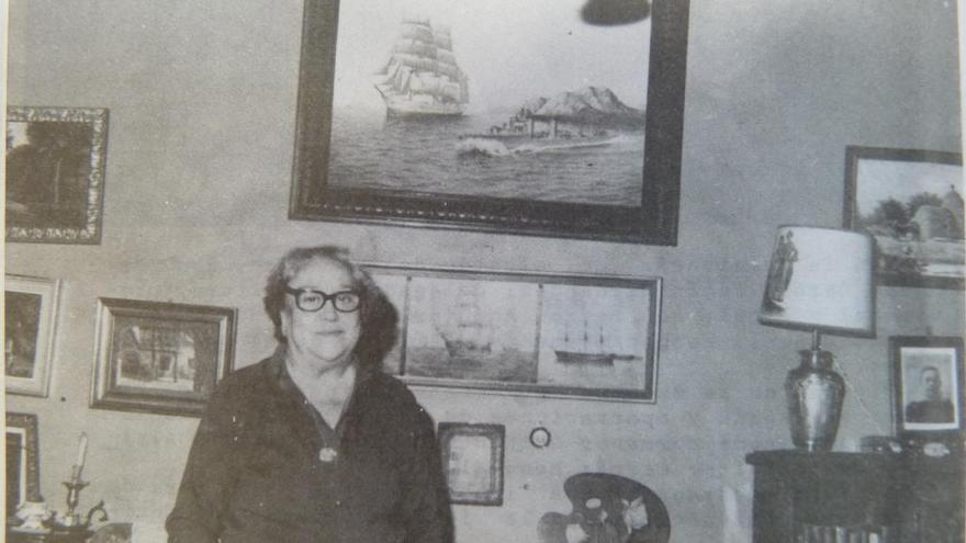 Amelia Portela, archivera y pionera