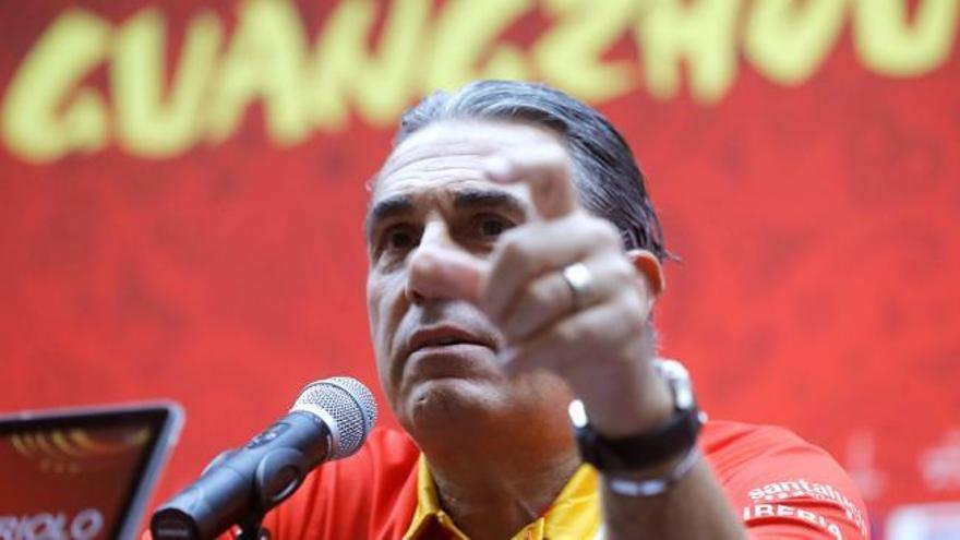 """Scariolo: """"No queremos estar al cien por cien ante Túnez"""""""