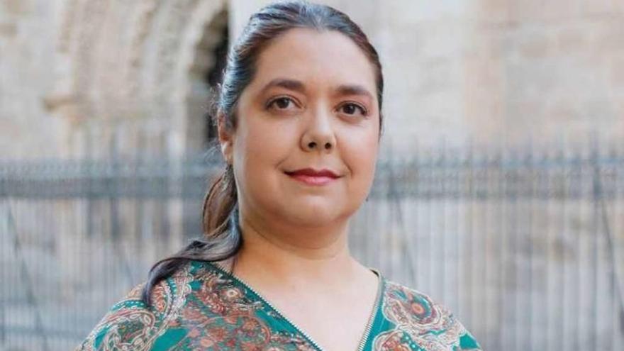 La zamorana Conchi Moyano, soprano y directora artística de la ópera 'Comuneros'