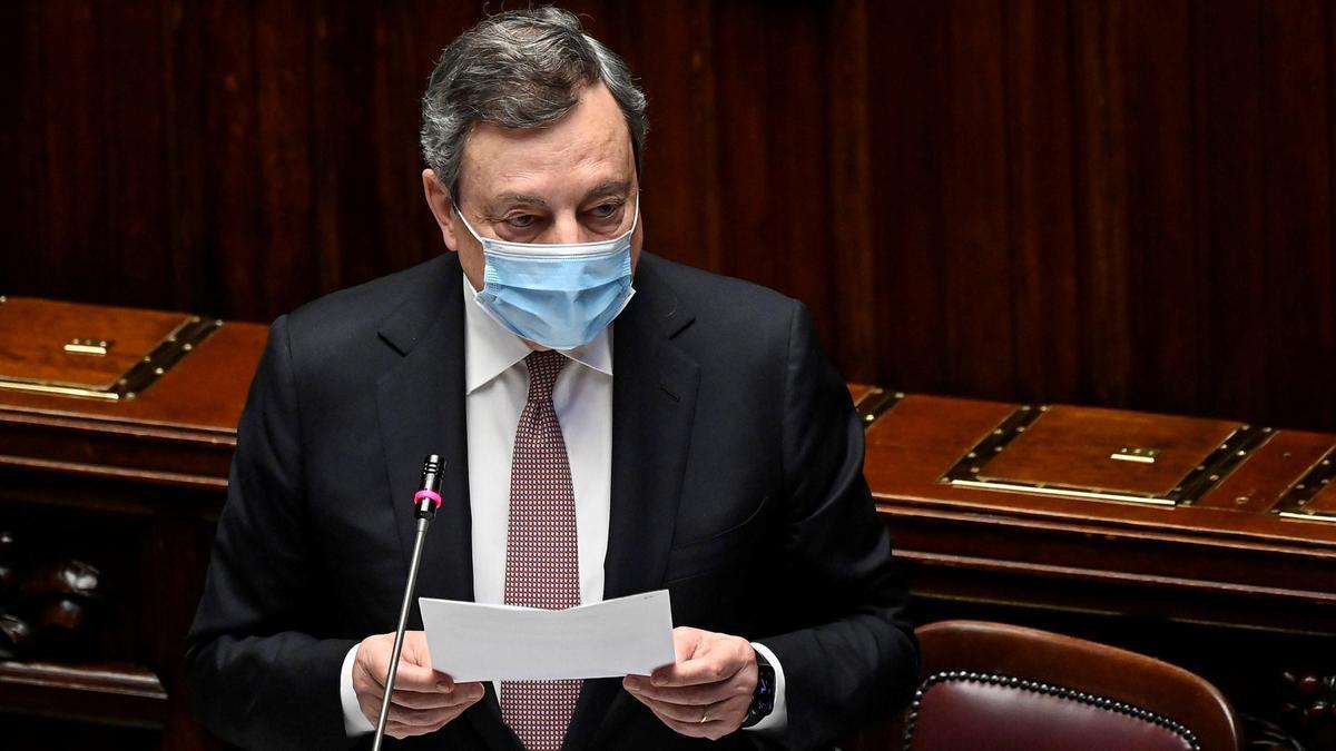 Mario Draghi , en una imagen de archivo.