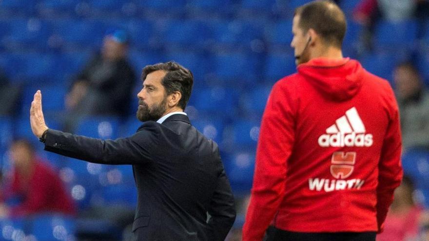 L'Espanyol destitueix Quique Sánchez Flores i Jordi Lardín