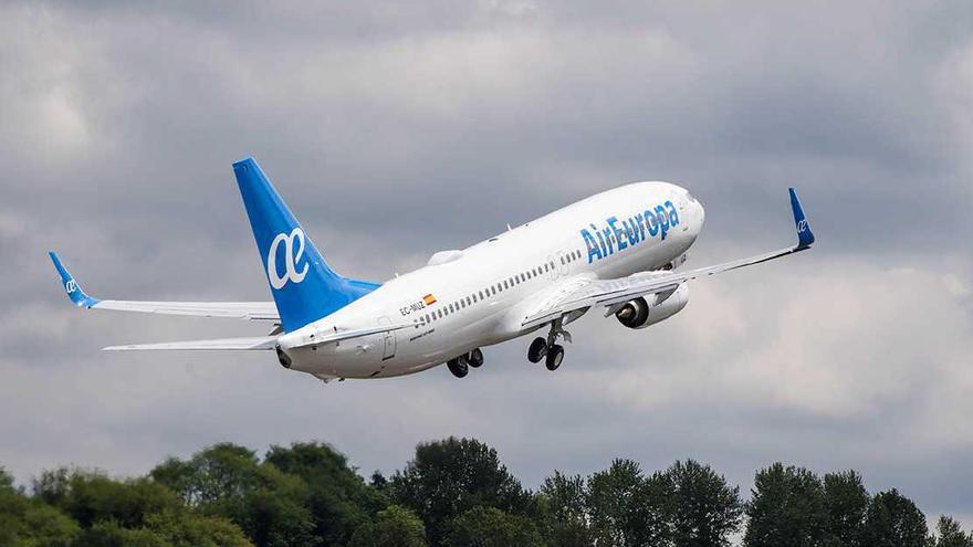 Air Europa reanuda sus vuelos nacionales